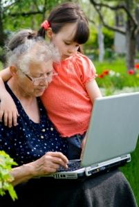 grandma kid computer